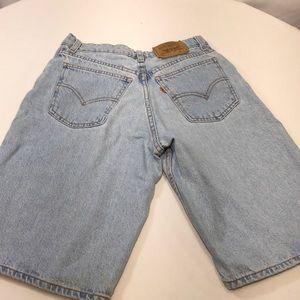 VTG Levi's Jean Shorts Orange Tab Light High Rise
